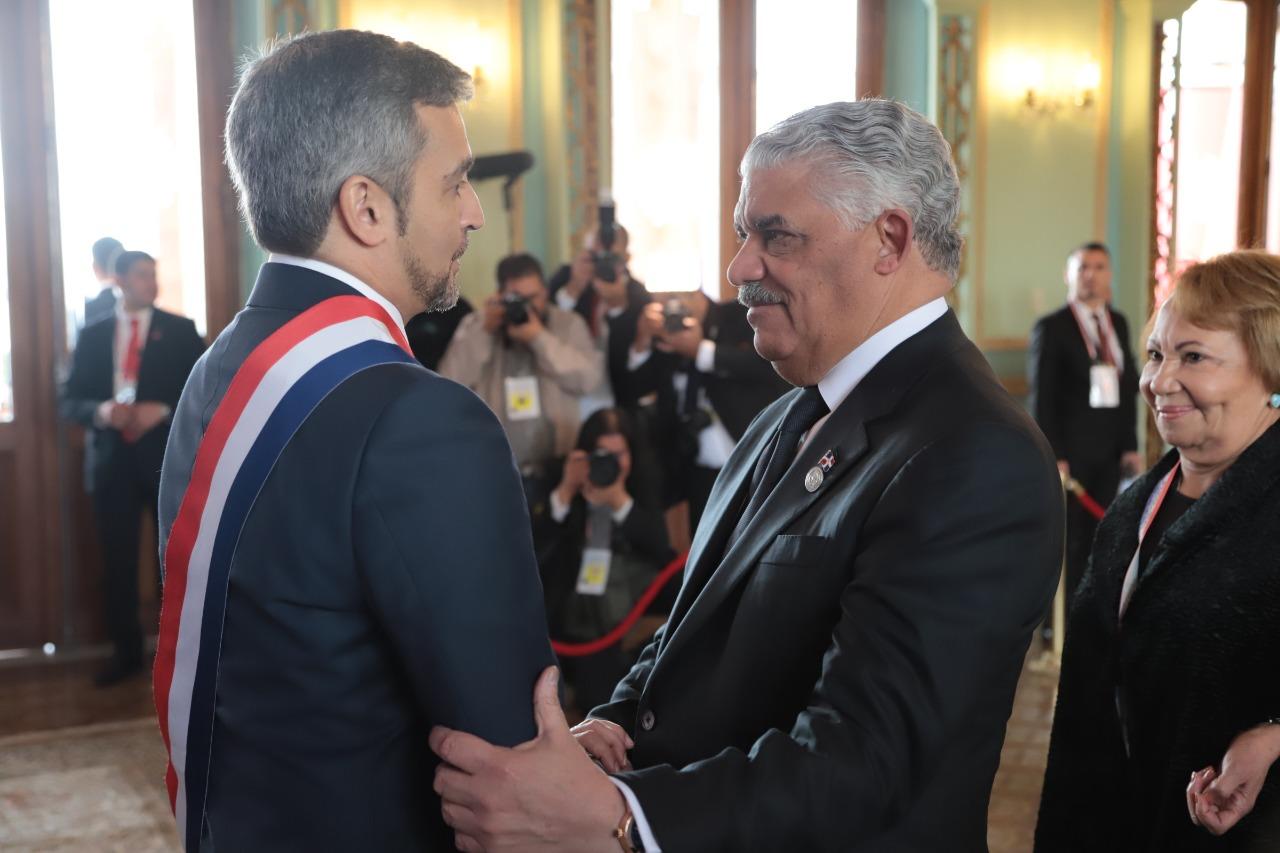 Miguel Vargas representa a RD en toma de posesión presidente de Paraguay