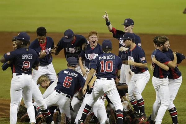 Estados Unidos vence a Panamá y es el nuevo campeón del béisbol sub 15