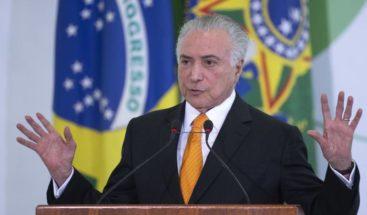 Temer dice Brasil estudia restringir entrada de inmigrantes venezolanos