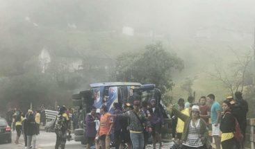 12 aficionados del club fútbol ecuatoriano mueren en accidente tránsito