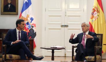 España y Chile estrechan lazos durante la visita de Pedro Sánchez