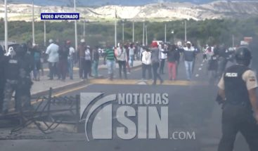 Un muerto en enfrentamiento entre policías y manifestantes en Ecuador