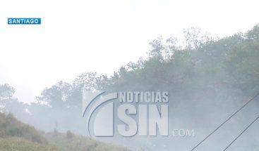 Comunidades de Tamboril sufren nuevamente humareda
