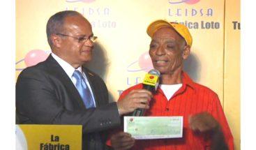 Agricultor se gana 43 millones de pesos en la loto de Leidsa