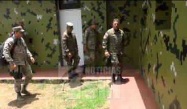 Ministro de Defensa recorre frontera en seguimiento a plan de seguridad