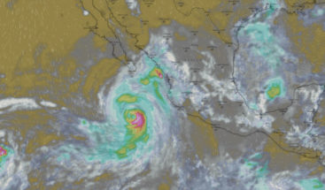 Huracán John sube a categoría 2 y absorbe tormenta Ileana en Pacífico