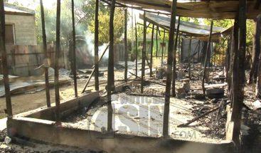Muere niño de cuatro años tras incendiarse pensión en Santiago