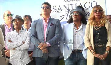 Ayuntamiento de Santiago rinde homenaje al merengue con mural