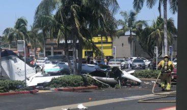 Al menos cinco fallecidos tras estrellarse una avioneta en California