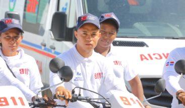 Presidente Medina pone en marcha servicios del 9-1-1 en Peravia