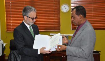 PRD entrega informe financiero primer semestre este año a JCE