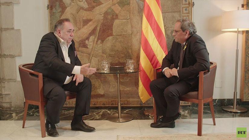 Cataluña no negociará la liberación de los políticos presos