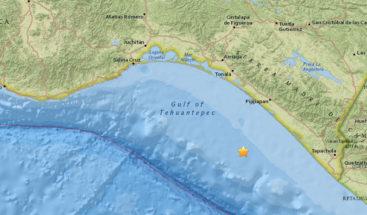 Un sismo de magnitud 5,2 sacude el sur de México