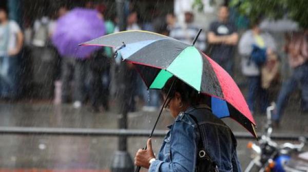 Pronostico de lluvias para la tarde y noche; hay 7 provincias en alerta