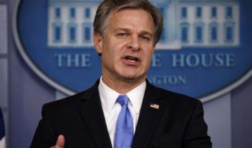 Director del FBI dice EEUU está bajo constante ataque de adversarios