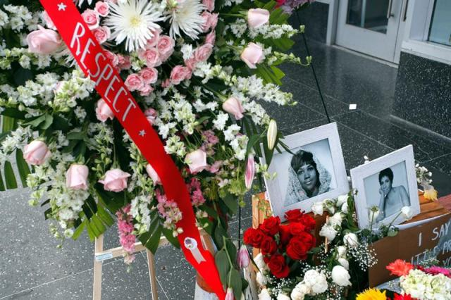 Homenaje a Aretha Franklin en la iglesia de Detroit