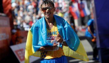 El primer oro, para Ucrania en 50 km marcha