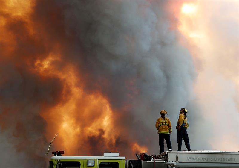 California registra el segundo peor incendio de su historia