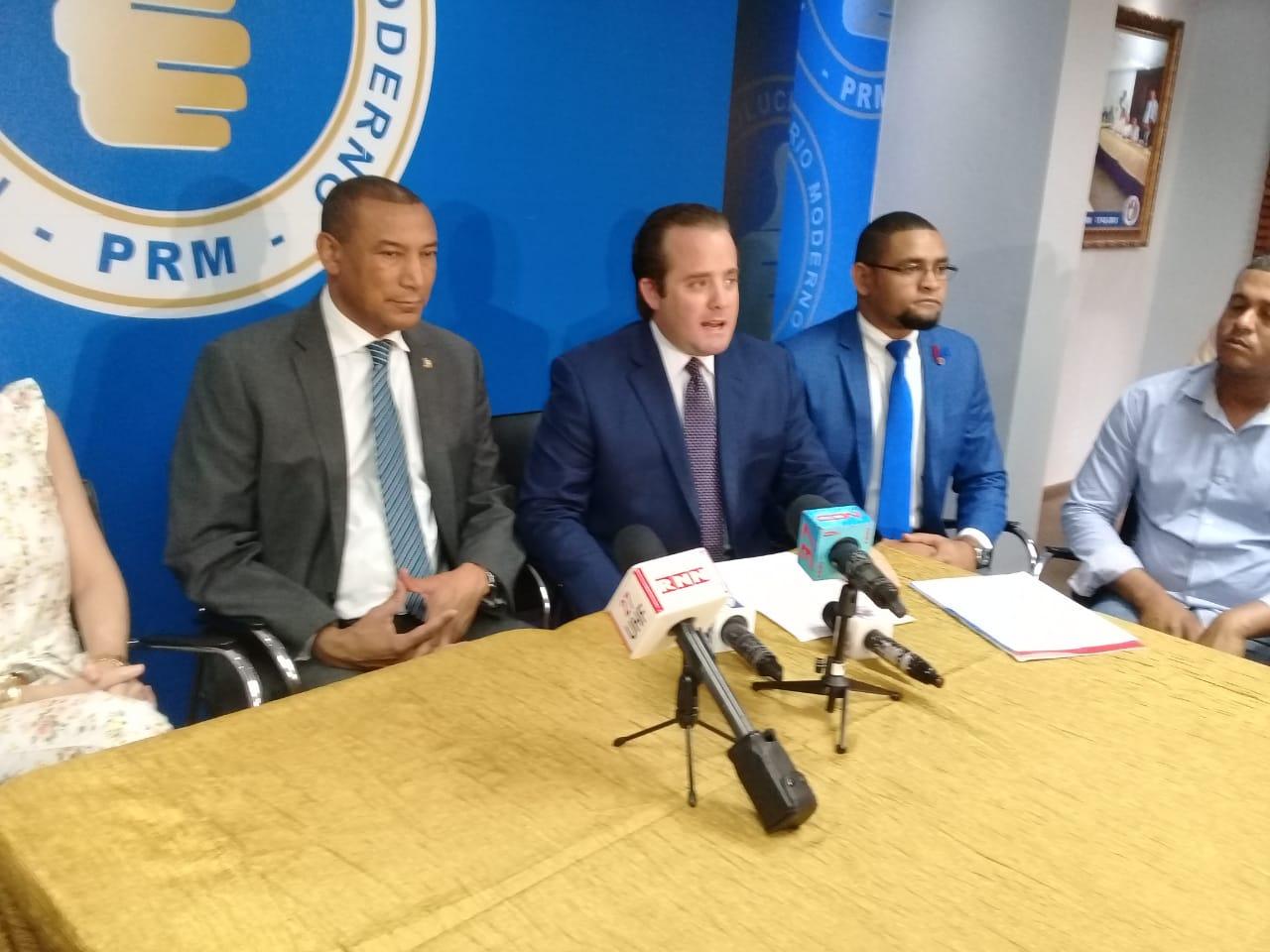 PRM justifica posición de organización al dar apoyo Ley de Partidos