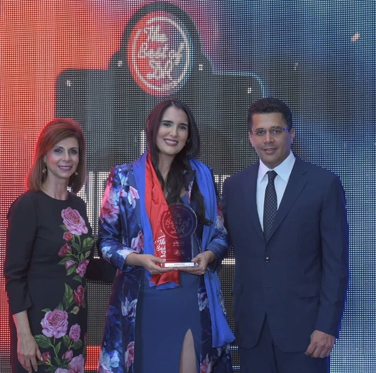 Aisha es premiada en The Best of DR 2018