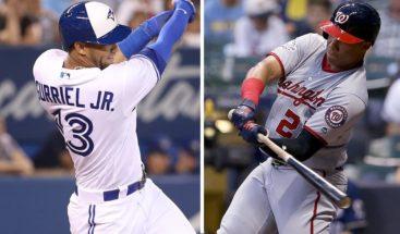 El dominicano Juan Soto y el cubano Gurriel Jr. Novatos del Mes en MLB