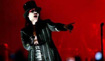 Marilyn Manson se desploma durante un concierto en Houston