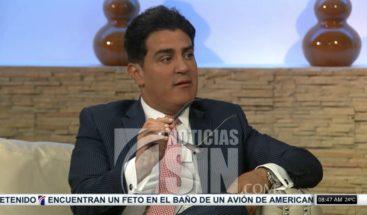 Julio Cury: Democracia y sistema de partidos no va a perecer