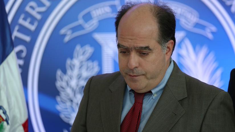 Venezuela confirma pedido extradición del diputado opositor Julio Borges