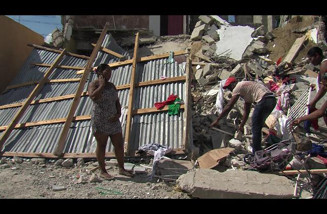 Desalojo en Villa Mella deja 58 familias a la intemperie