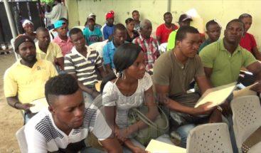 Extranjeros se dan cita en Dajabón para legalizar estatus migratorio