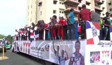 RD celebra la obtención de 107 medallas en Juegos Centroamericanos