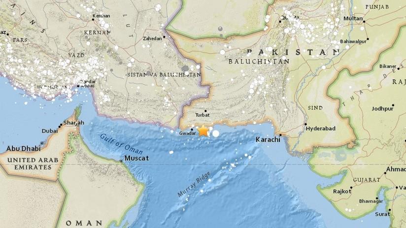Un sismo de magnitud 5,0 sacude el sur de Pakistán