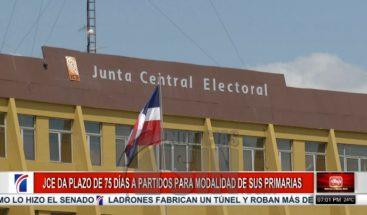 JCE fija plazos para elección modalidad de primarias