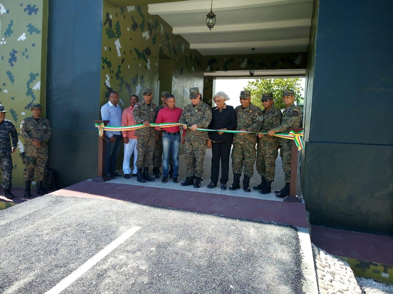 Ejército Nacional inaugura fortaleza El Rodeo de la zona fronteriza