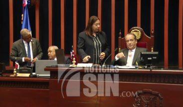 Senado convoca para este jueves con objetivo de conocer Ley de Partidos