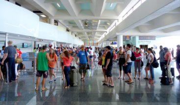 Llegada de turistas aumenta un 5.9% en primeros siete meses del año