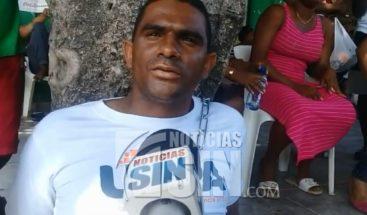 Comunitario hace huelga de hambre por falta de energía eléctrica