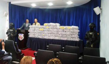 Decomisan 285 paquetes presumiblemente cocaína en Barahona