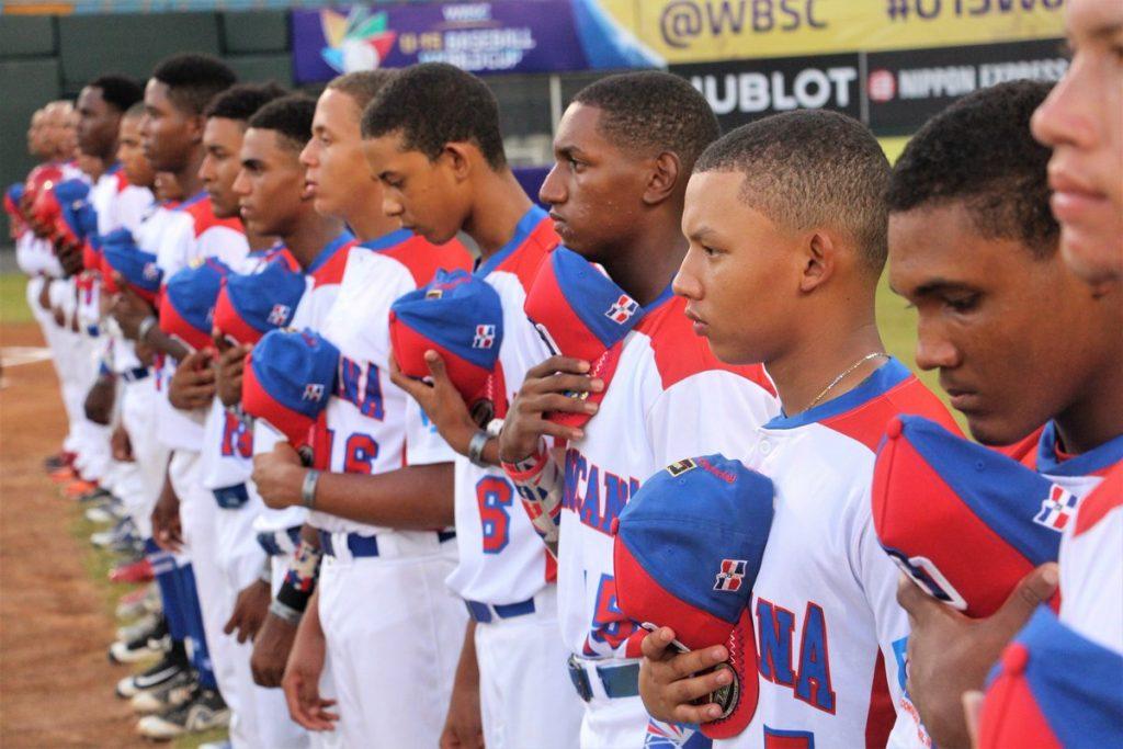 RD cae y queda al borde de eliminación en Mundial de Béisbol Sub'15