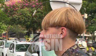 ¡Increíble! Tres cyborgs se pasean por las calles de Medellín