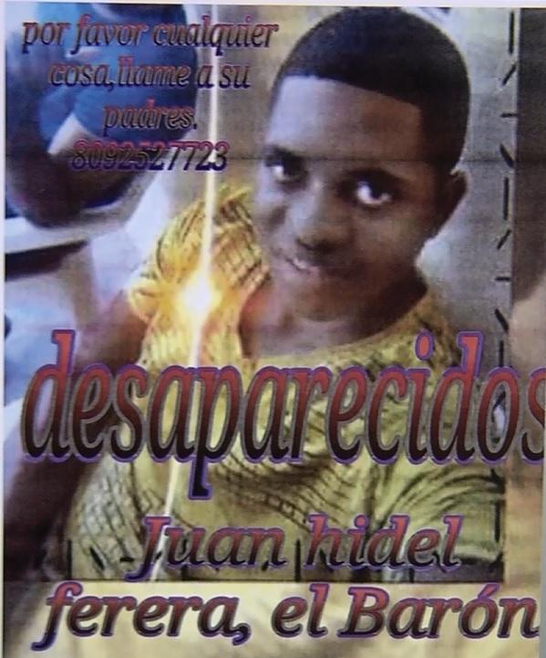 Está desaparecido joven desde el domingo que salió de su residencia