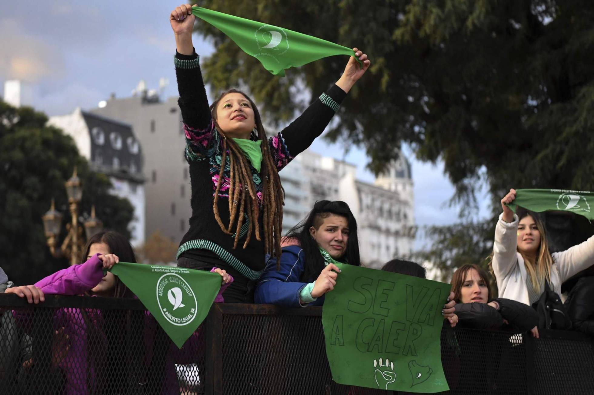 El 'no' al aborto en Argentina, entre la