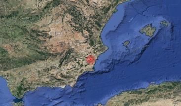 Se registra un terremoto de magnitud 4,2 en el sur de España