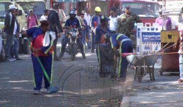 Ayuntamiento DN realiza operativo de limpieza en el sector La Ciénaga