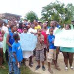 Protestan en municipio de Guerra por supuesto desalojo
