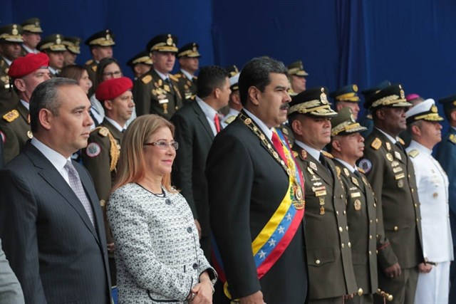 Siete heridos en ataque con drones contra Nicolás Maduro en Caracas