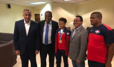 Construirán casa a medallista de oro en Juegos Centroamericanos