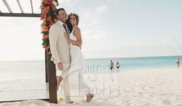 Realizan boda múltiple para concienzar sobre el romance en Aruba