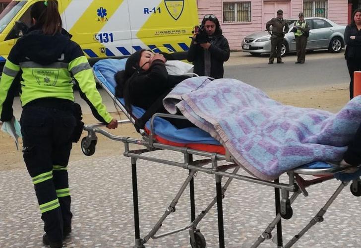 Al menos 100 personas intoxicadas por una nube química en Chile