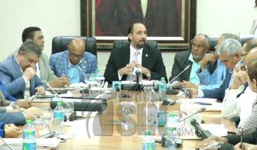 Comisión especial estudia ley de partidos culmina informe